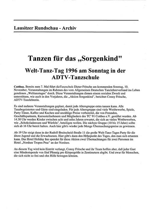 Tanzschule Fritsche (Cottbus) - Cottbus-Wiki